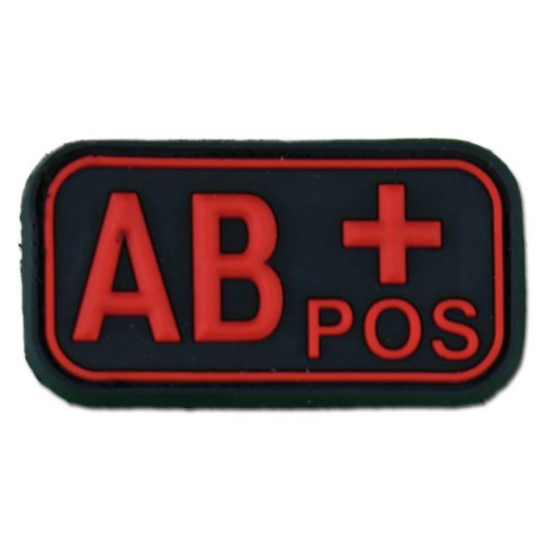 3D Blood Type AB Pos blackmedic