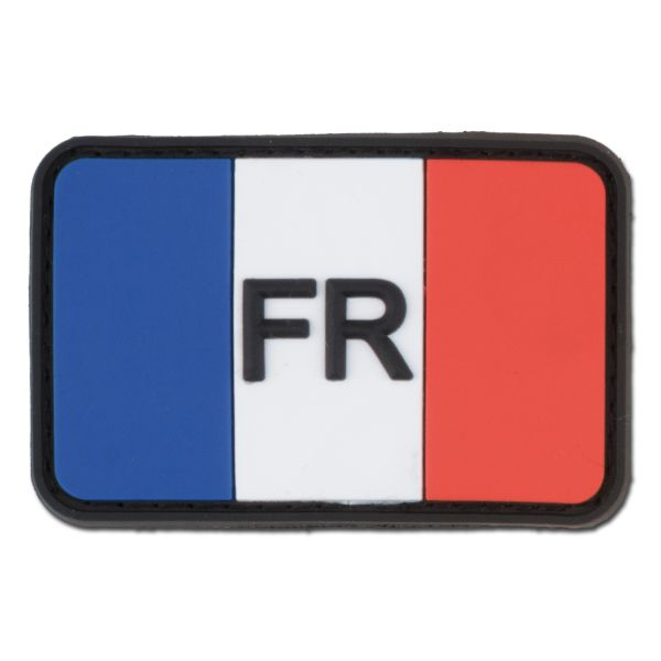 3D-Patch France with Country Code