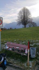 Ostfriesentee im Alpenpanorama