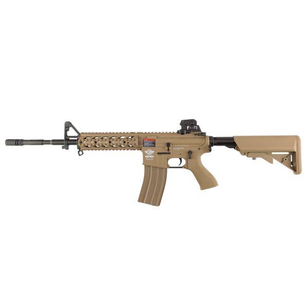 G&G Airsoft Assault Rifle CM16 Raider L S-AEG desert