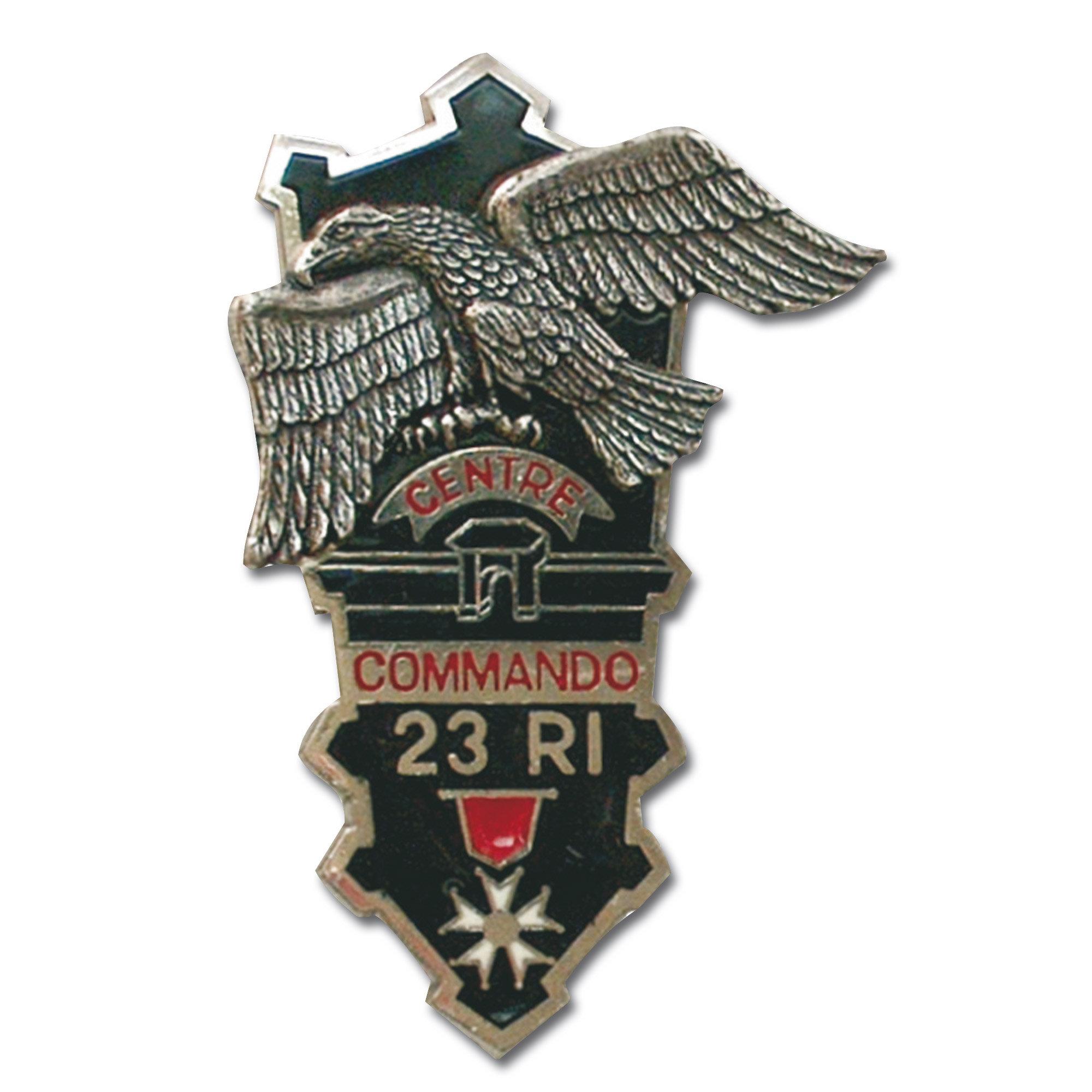 French Insignia Commando CEC 23e RI