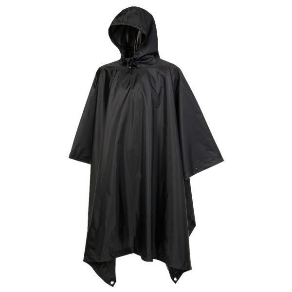 Brandit Poncho Ripstop black
