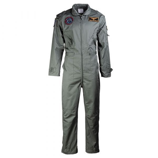 Mil-Tec US Flight Suit with Insignia olive