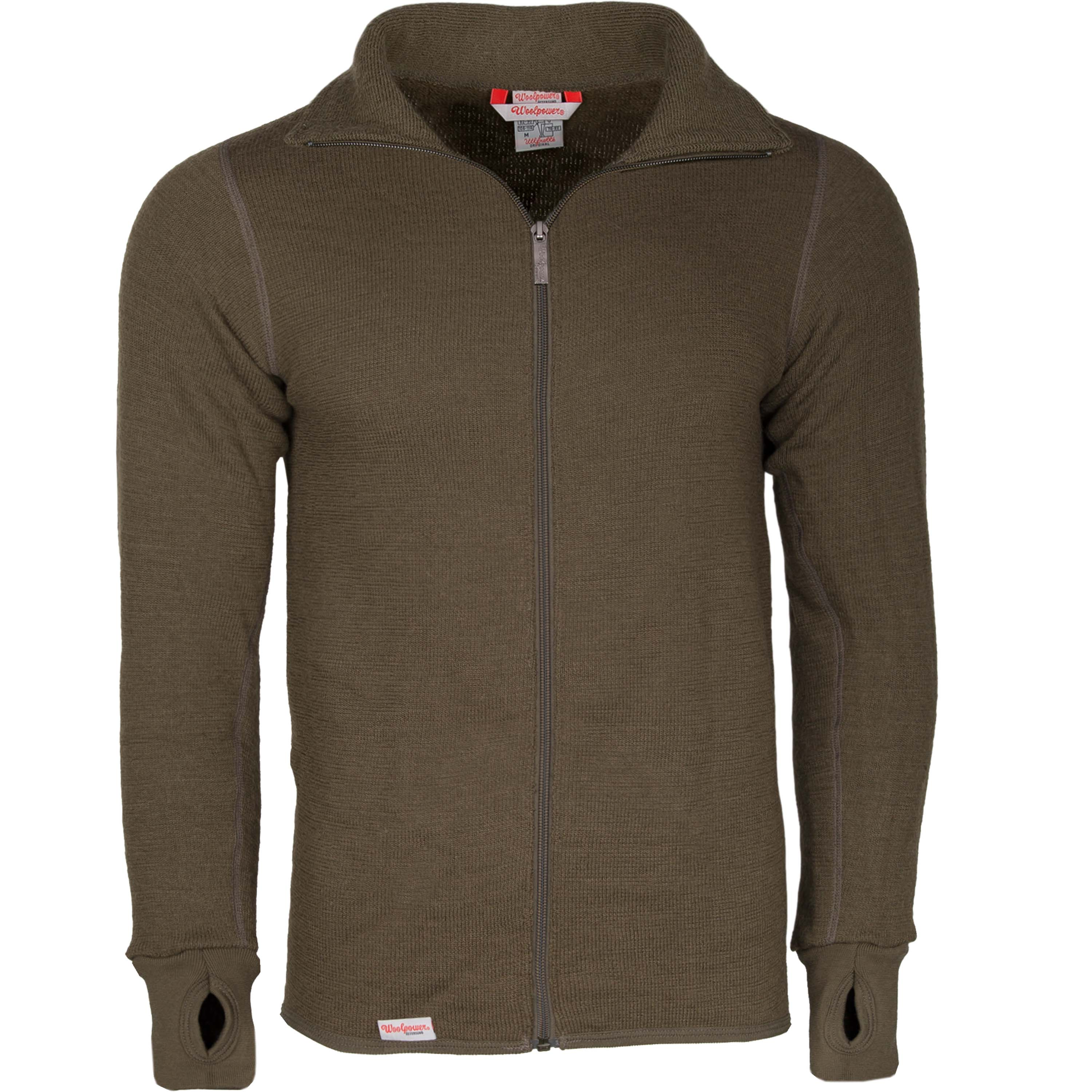 Woolpower Jacket 400 pine green