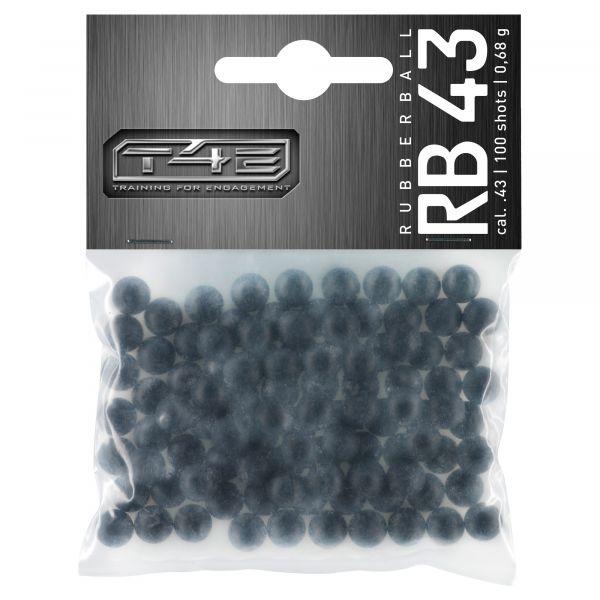 T4E Home Defense Rubber Balls .43 Cal. 100 Shot black