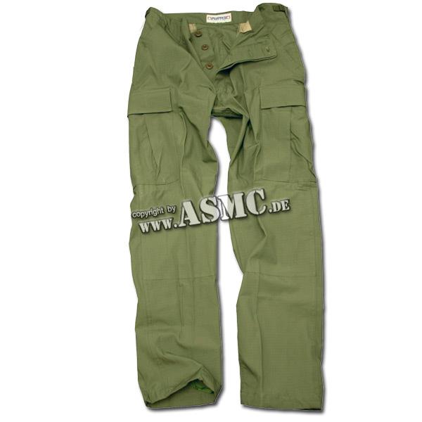 BDU pants US olive rip-stop