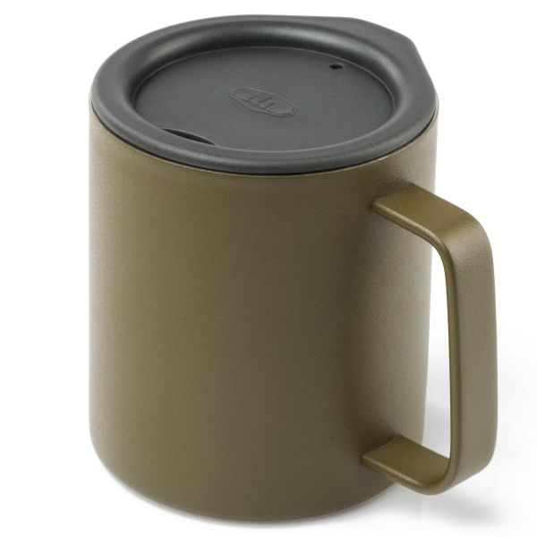 GSI Outdoors Glacier Stainless Camp Cup 296 ml olive