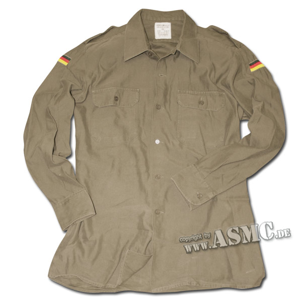 German Army Field Shirt Used olive green