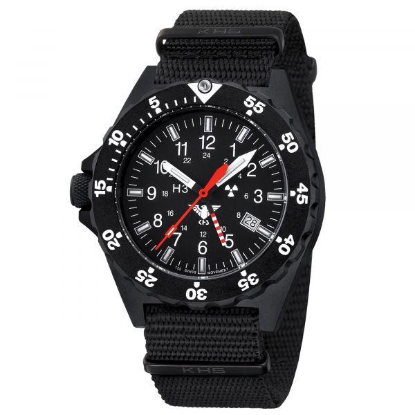 KHS Watch Shooter GMT Nato Strap black