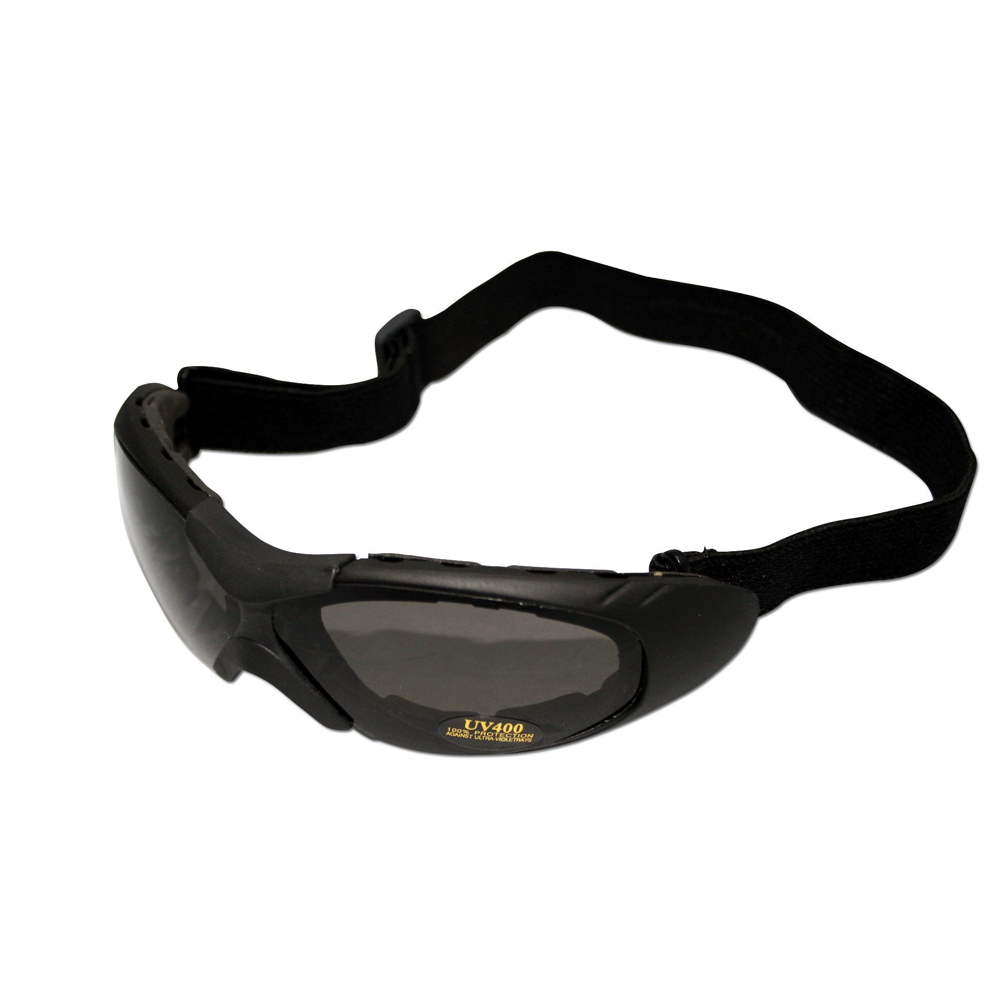 Biker Glasses Run