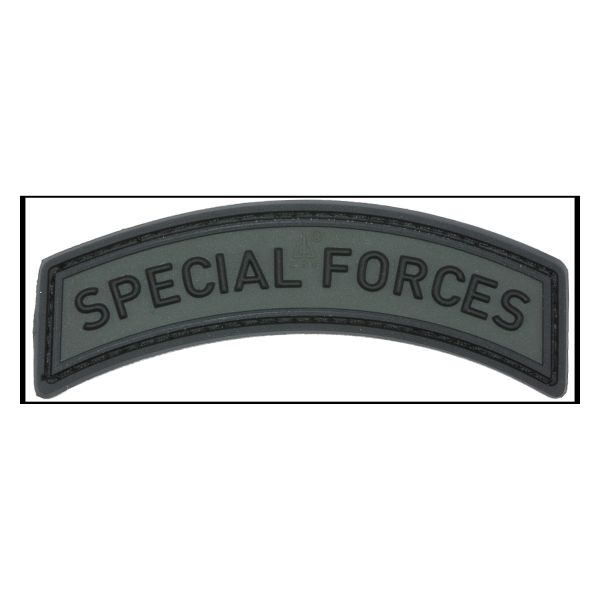 3D-Patch Special Forces Tab battle gray