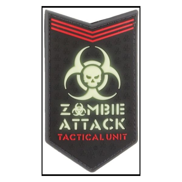3D-Patch Zombie Attack Glow in the Dark