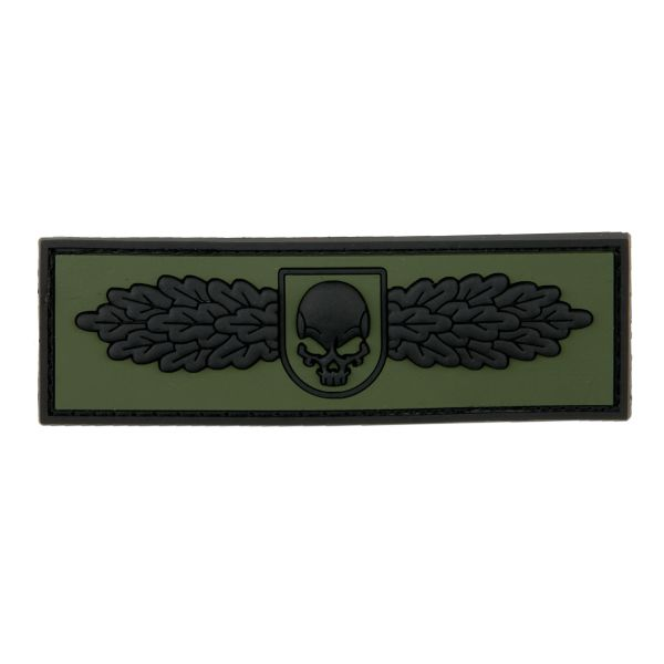 3D-Patch SOF Skull Badge forest