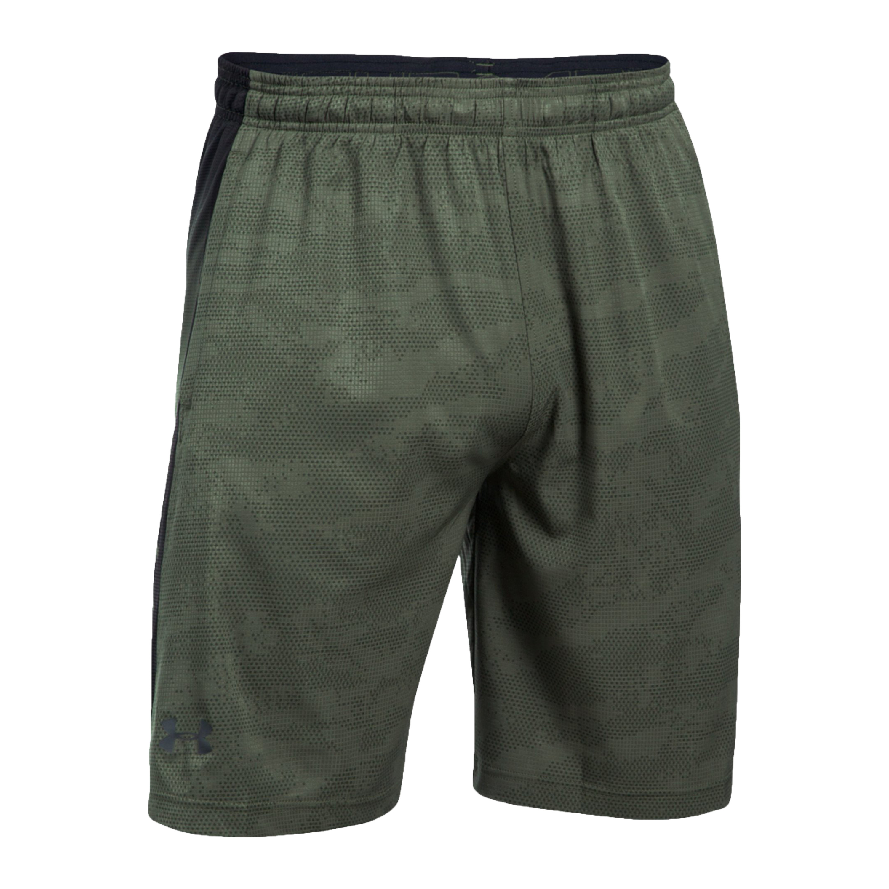 Under Armour Fitness Short Supervent Woven green camo