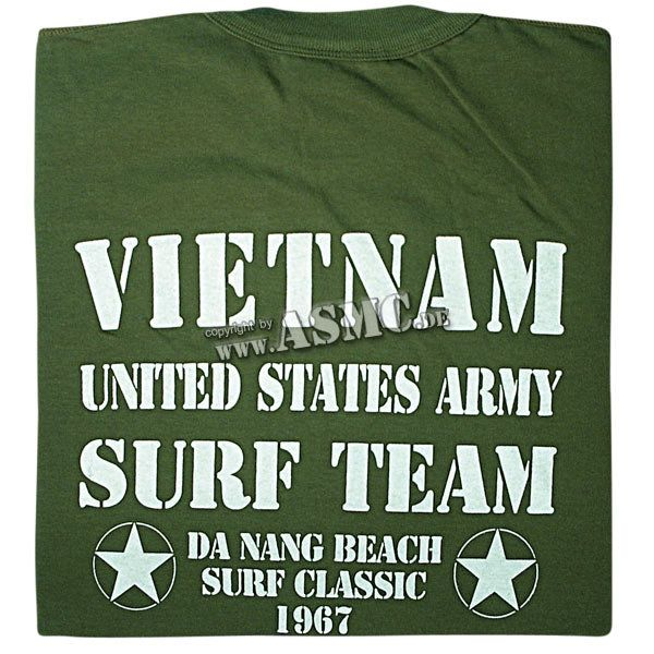 T-Shirt Vietnam Surf Team olive