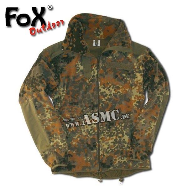 Fleece Jacket Alpine Import flecktarn