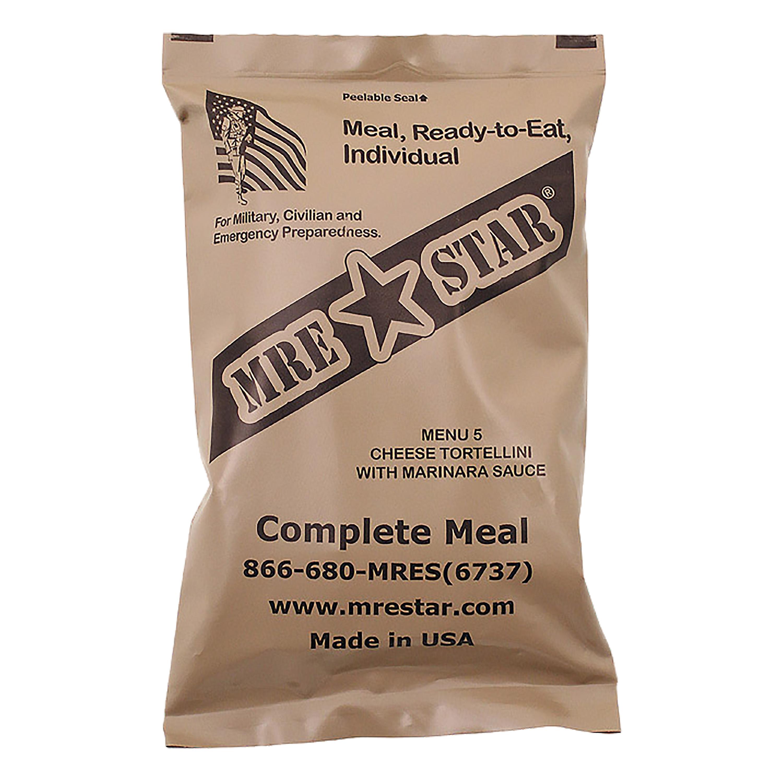 MRE Star Ready-to-Eat Cheese Tortellini | MRE Star Ready ...