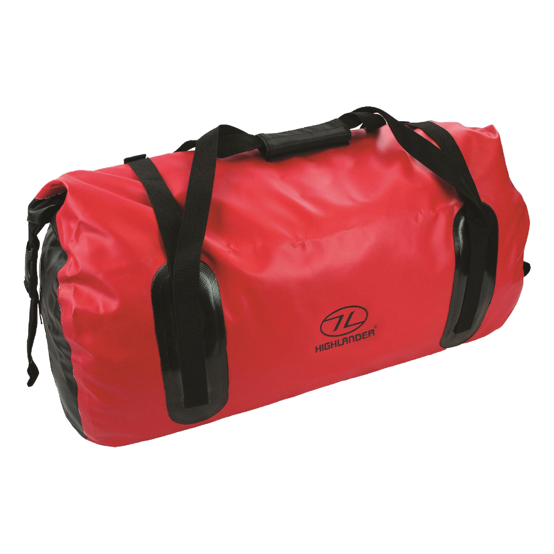 Highlander PVC Travel Bag Mallaig 35L red