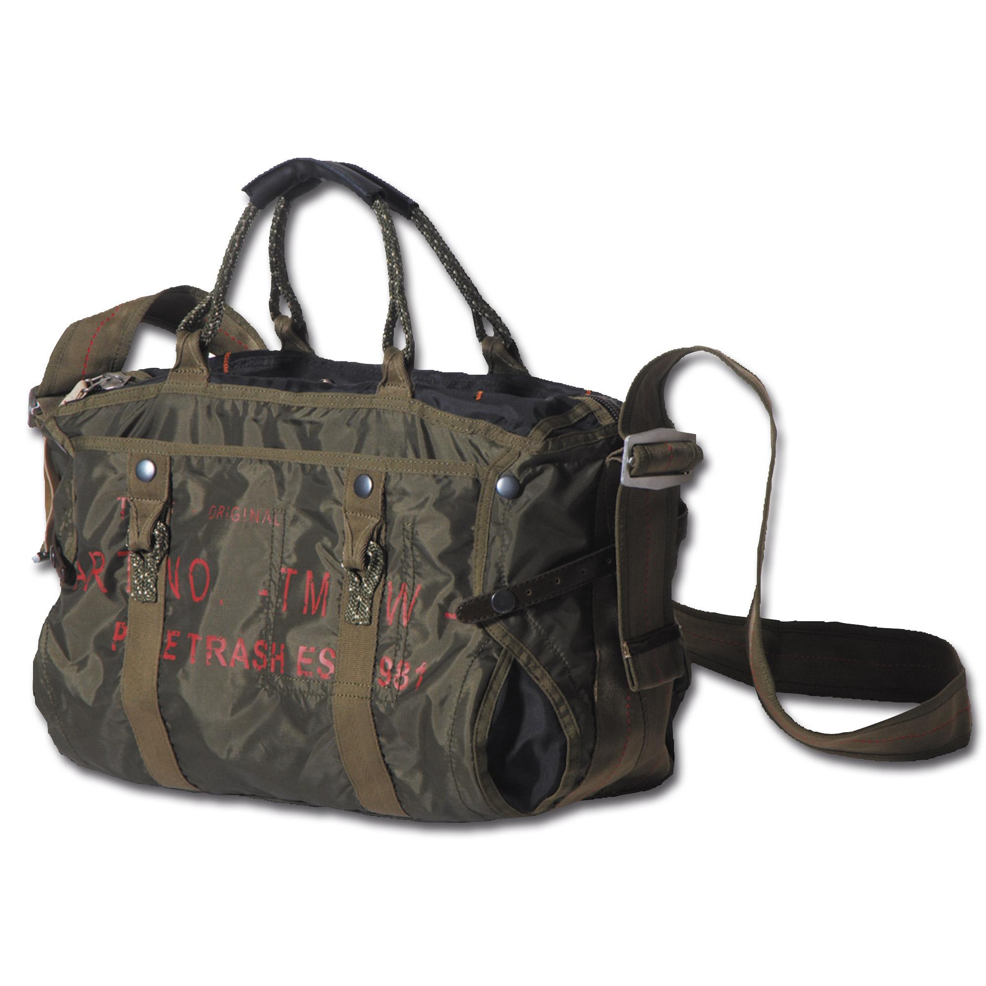 Handbag Pure Trash Nylon Large