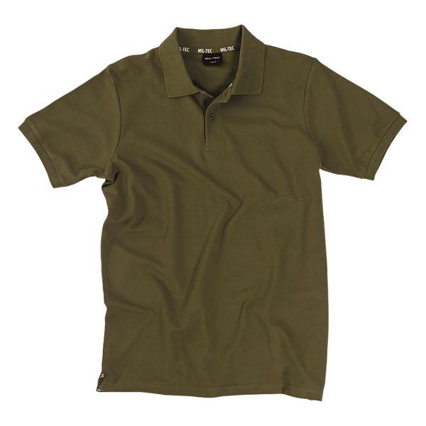 Poloshirt Piqué 250 g olive