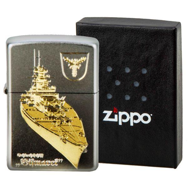 Zippo with Bismarck Engraving