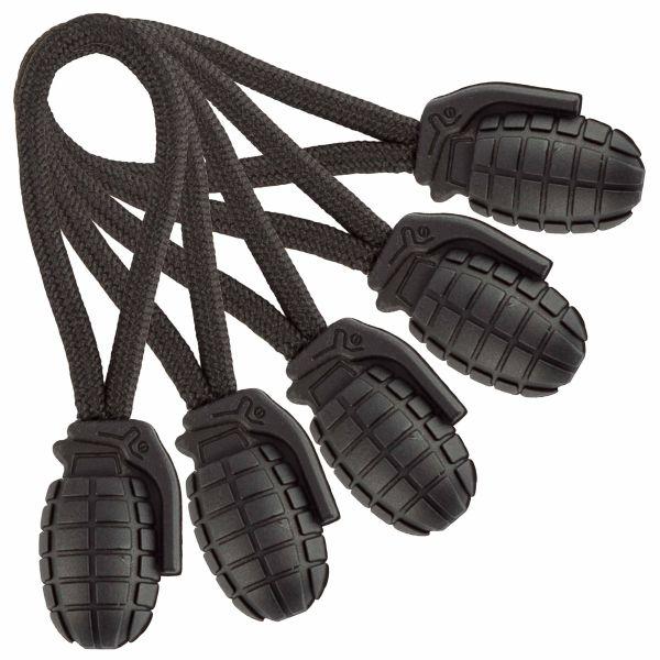 Mil-Tec Ring Puller Pineapple 5-Pack black