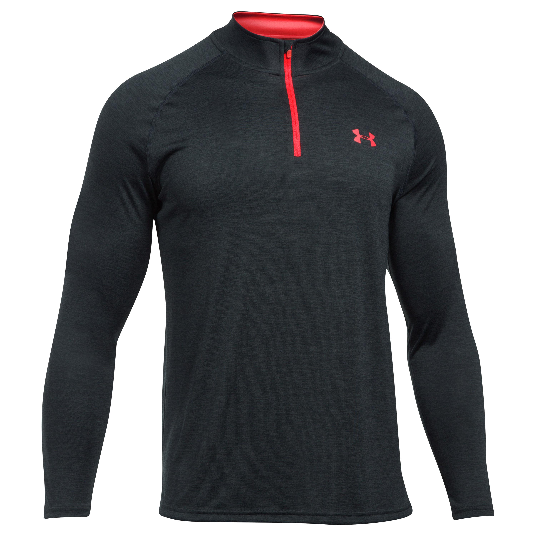 Under Armour Pullover Tech Novelty Quarter Zip black/red