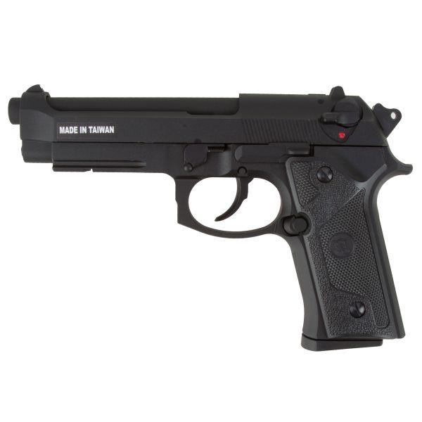 KJ Works Airsoft Pistol M9 Vertec Full Metal GBB black