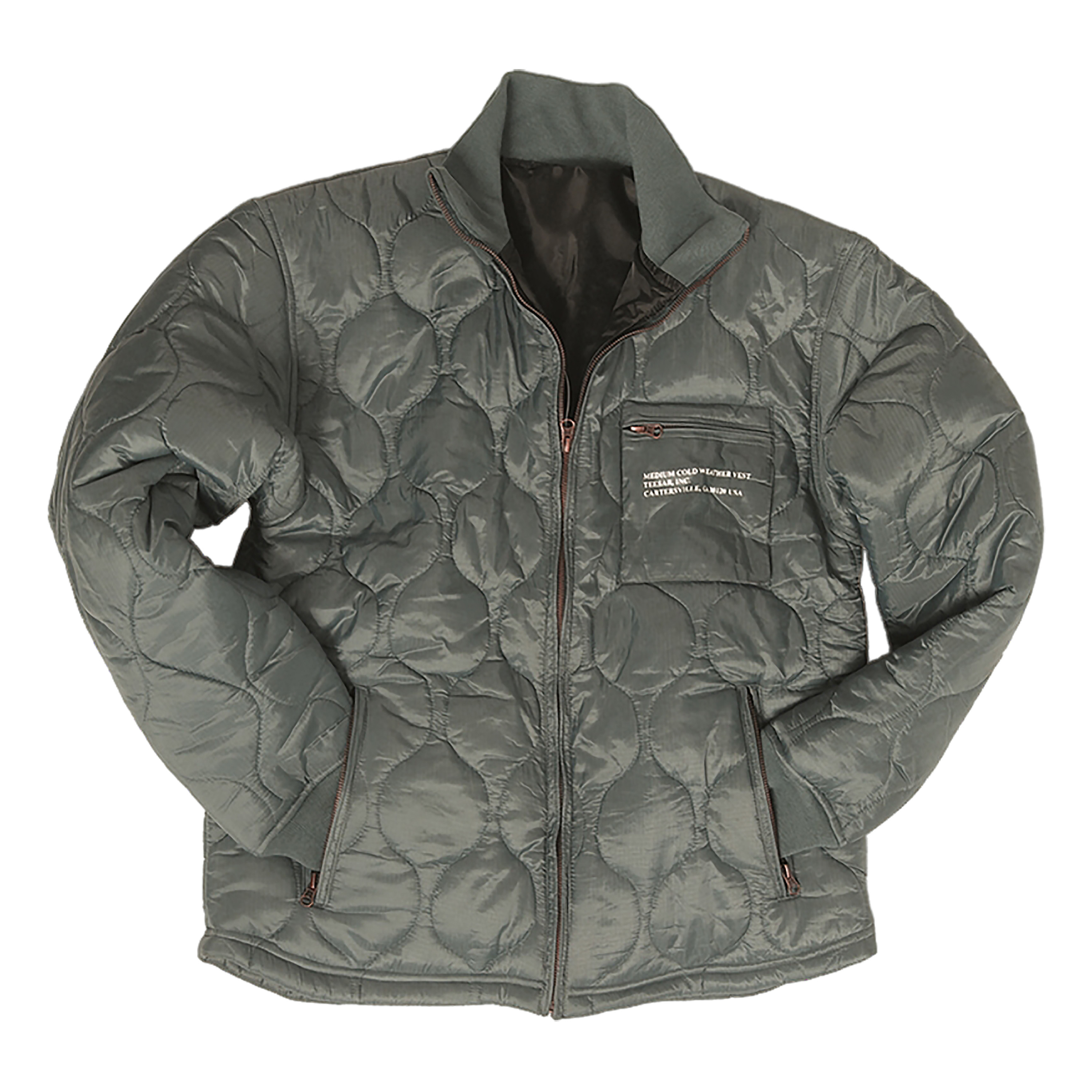 U.S. Cold Weather Quilted Jacket foliage