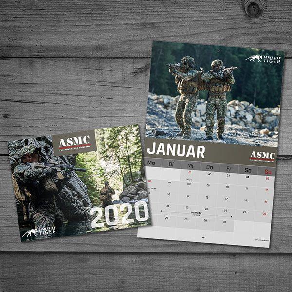 Tasmanian Tiger Calendar 2020