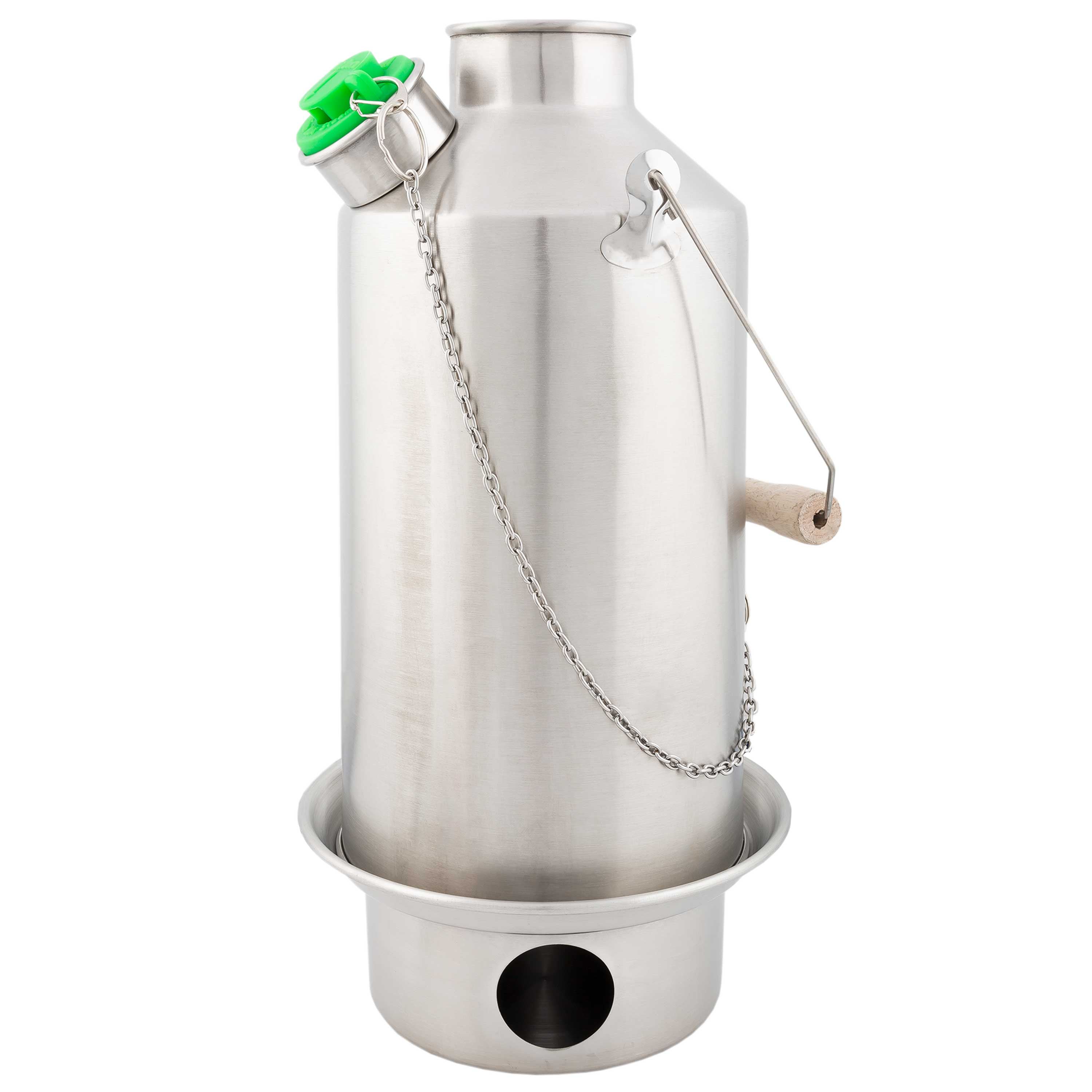 Kelly Kettle Base Camp Stainless Steel 1.6 L