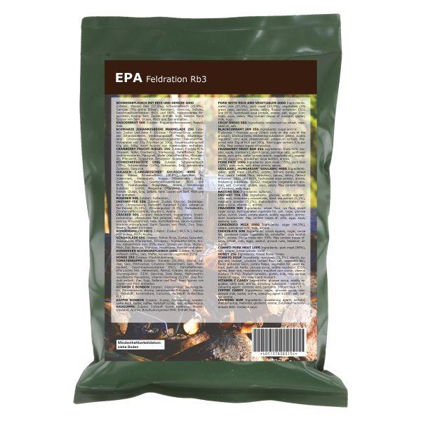 EPA Field Ration RB3