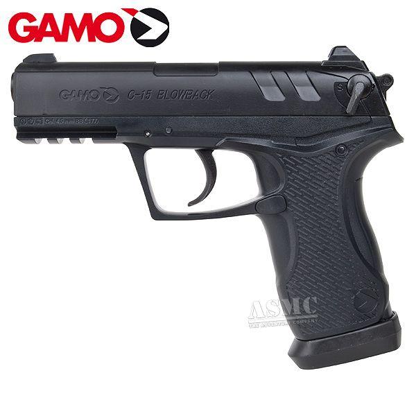 Gamo Co2 Pistol C-15 BB & Pellet