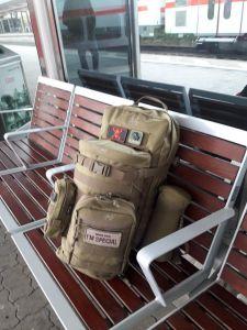 Reisegepäck für einen Kurztripp