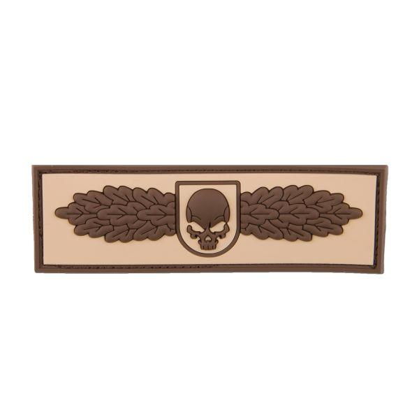 3D-Patch SOF Skull Badge desert