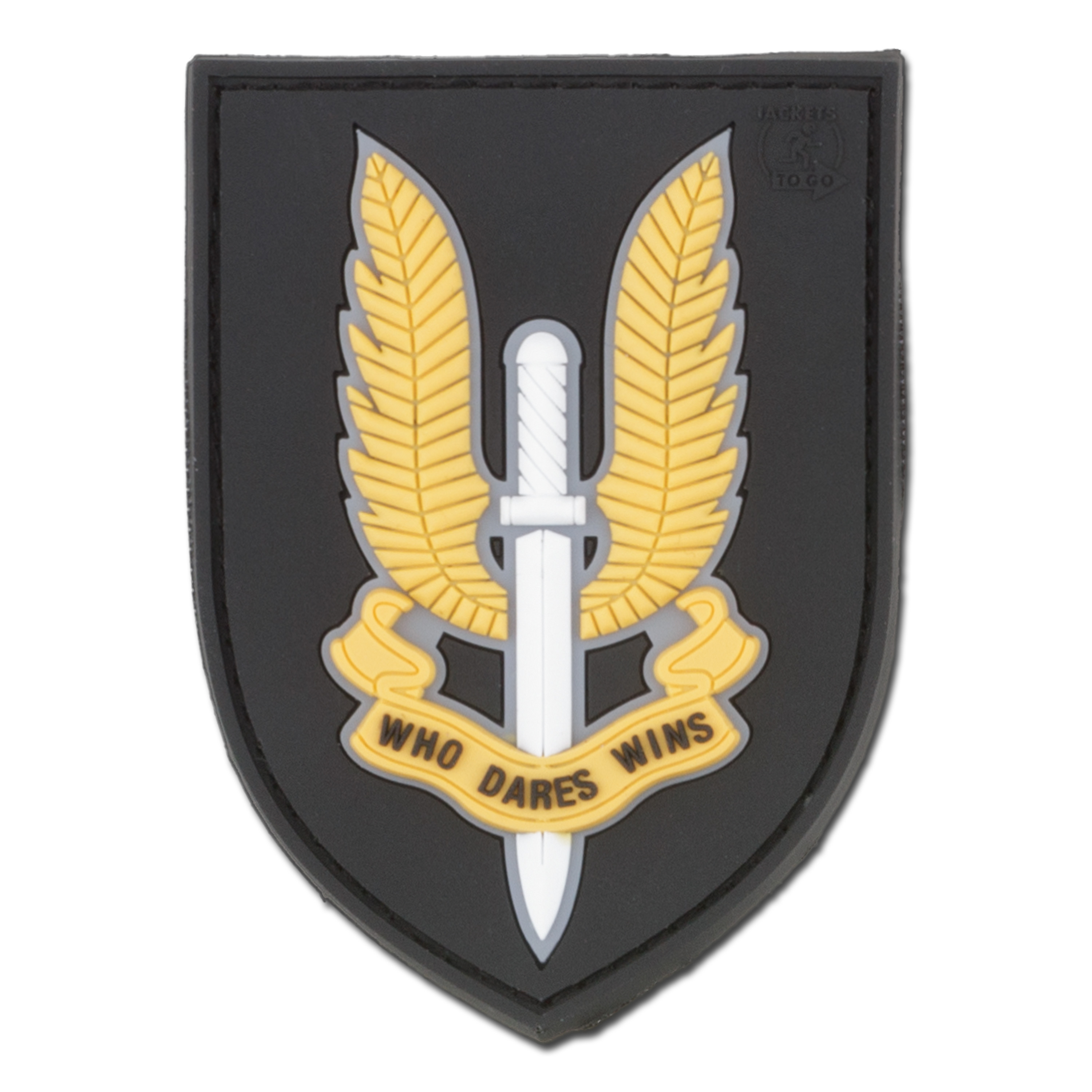 3D-Patch Who Dares Wins SAS full color