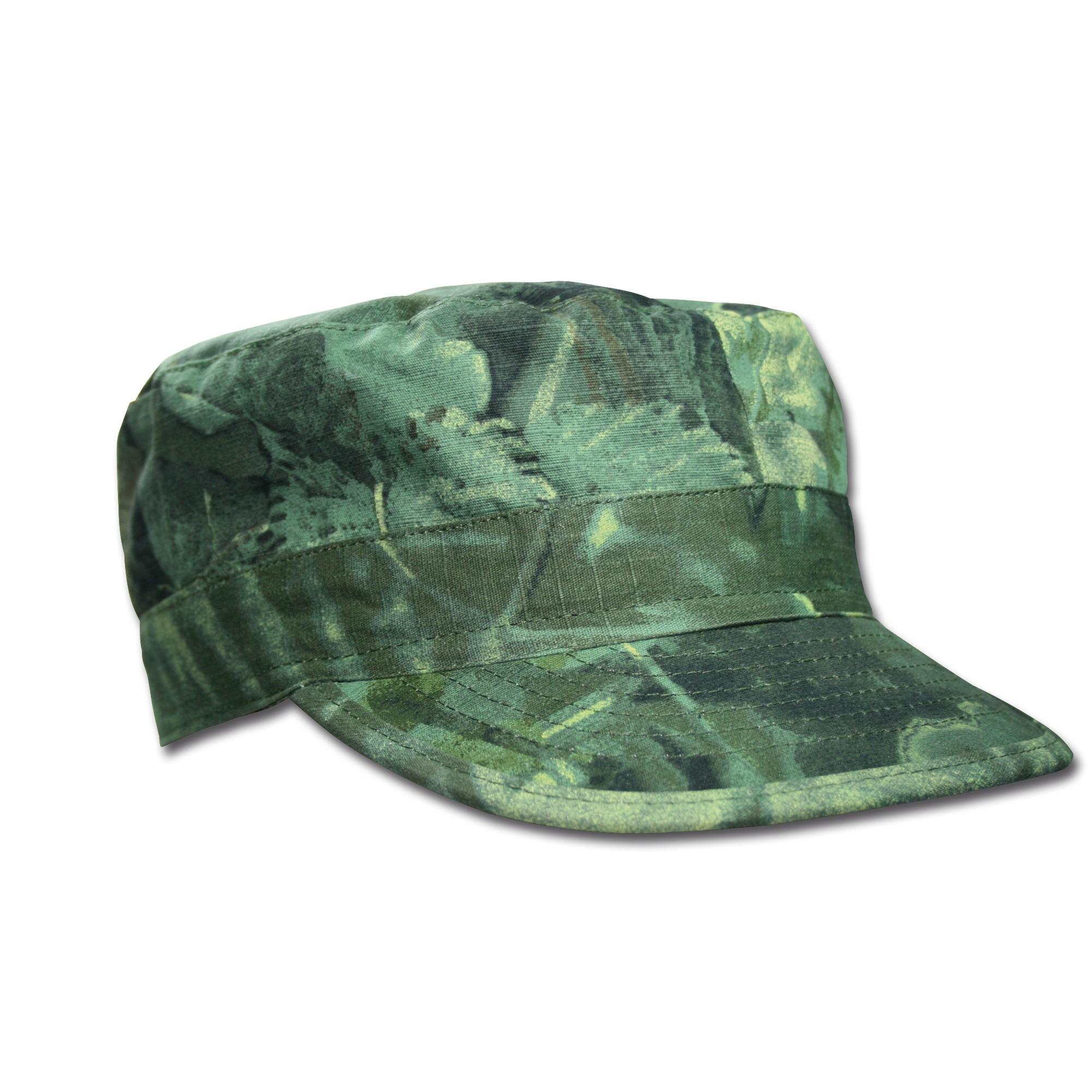 BDU Cap ripstop hunter green