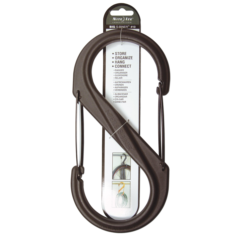 S-Biner Nylon Tactical black size 10