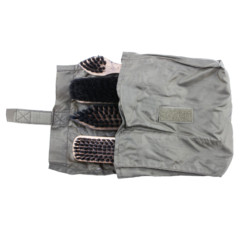 German Military Shoe Polish Set, used