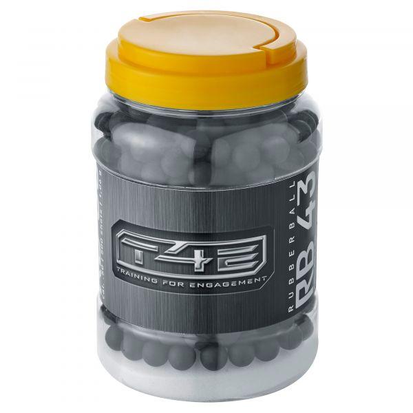 T4E Home Defense Rubber Balls .43 Cal. 500 Shot black