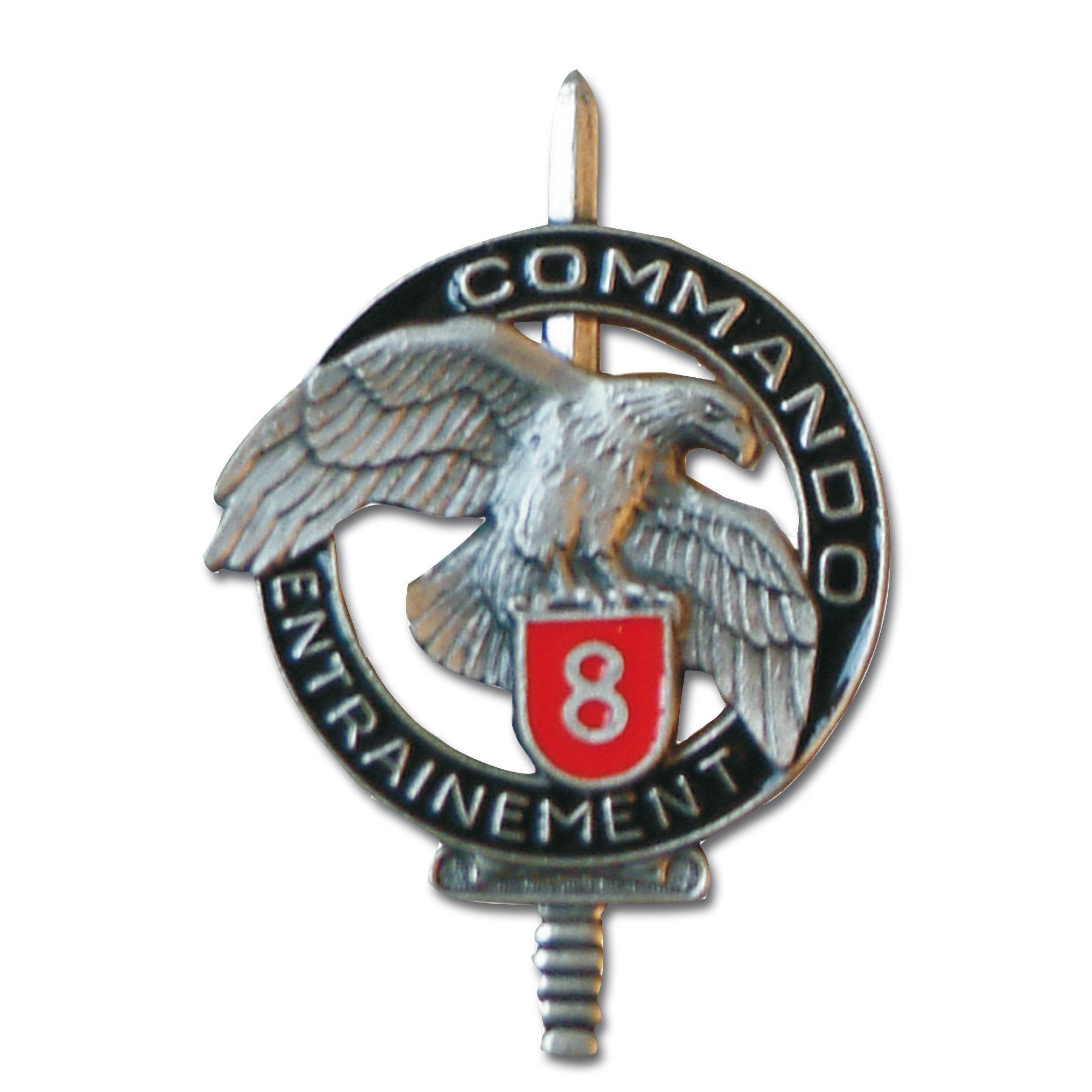 French Insignia Commando CEC 8
