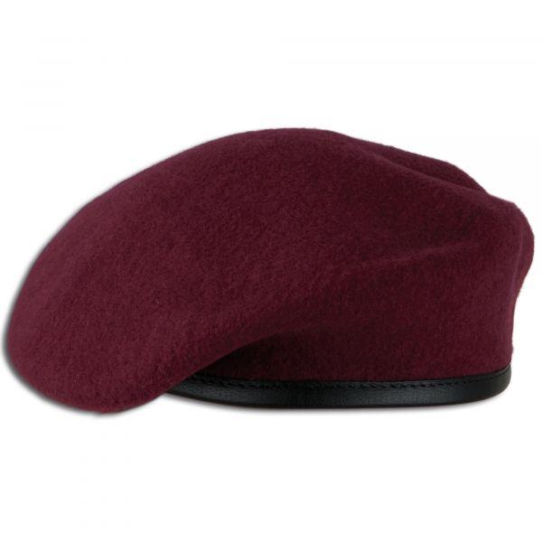 German Army Beret maroon