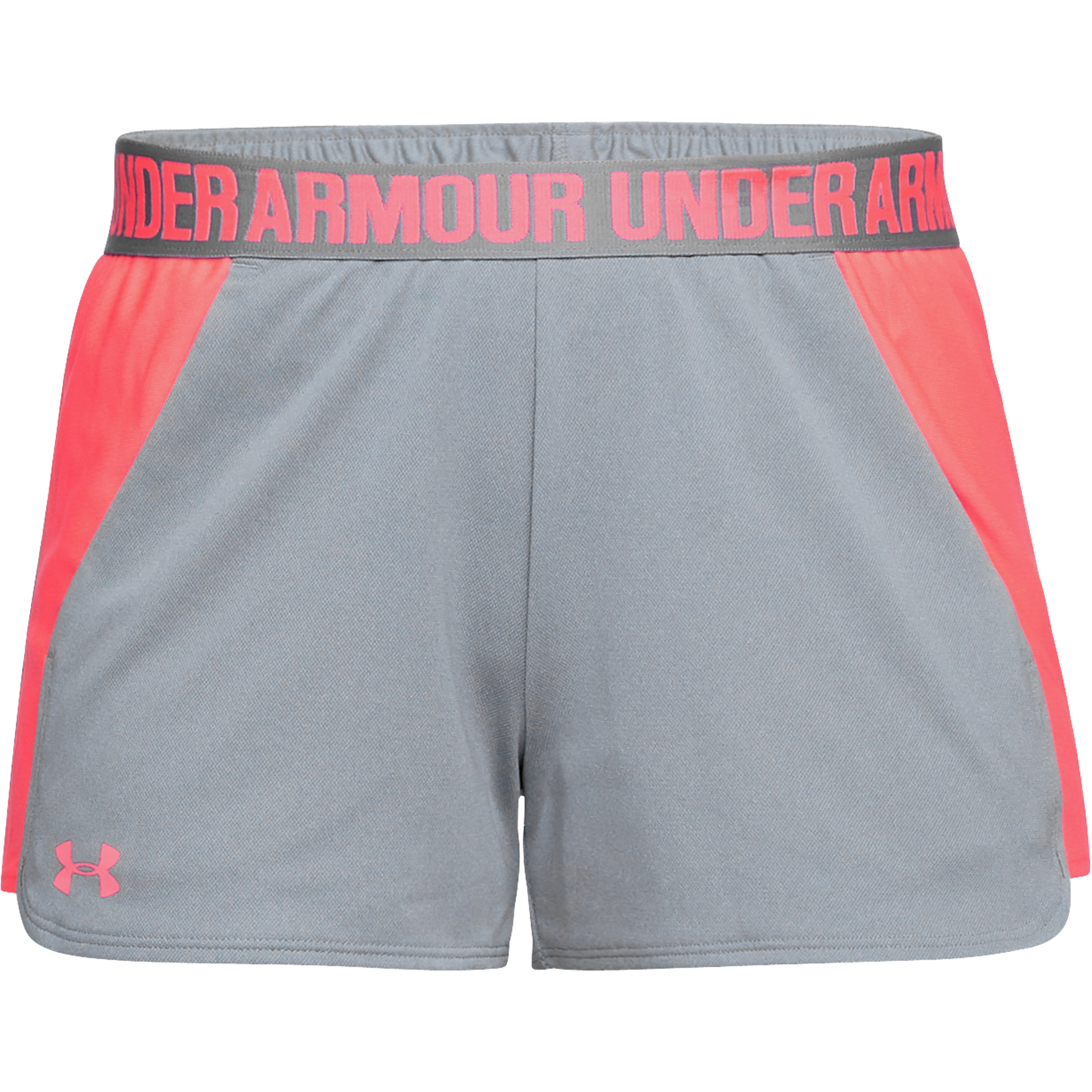 Under Armour Women Short Play Up 2.0 gray/pink