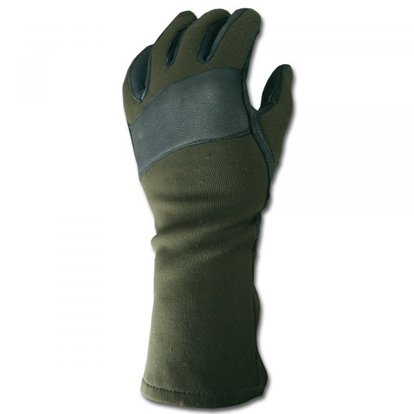 German Army Combat Gloves Used olive