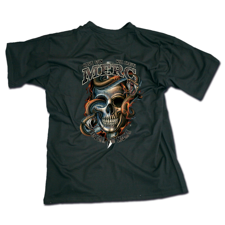 T-Shirt Mercenaries Black Ink