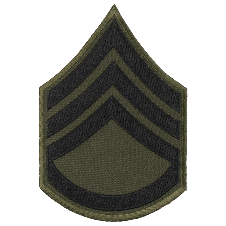 Rank Insignia U.S. Chevron Textile Large Staff Sergeant
