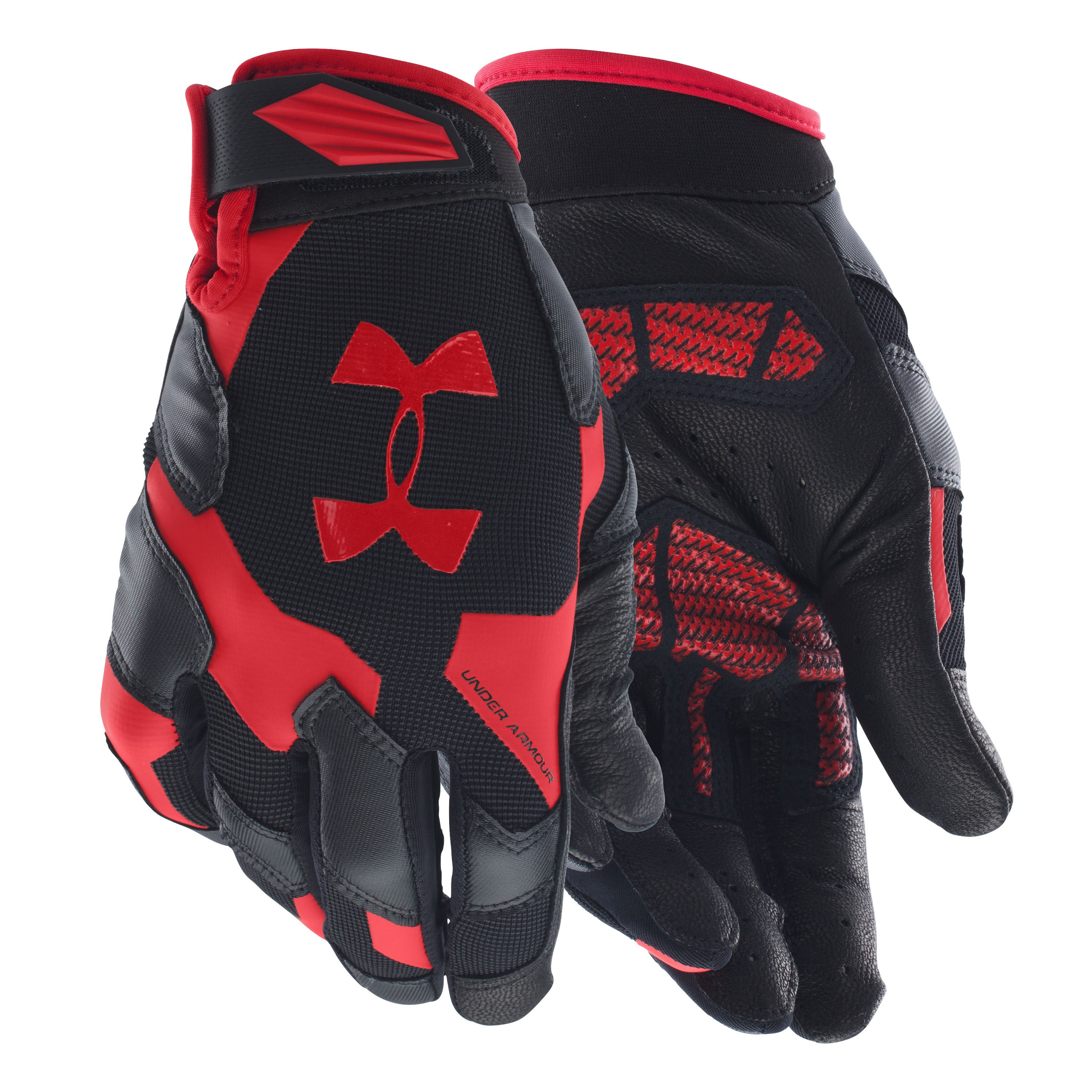 Under Armour Gloves Renegade black/red