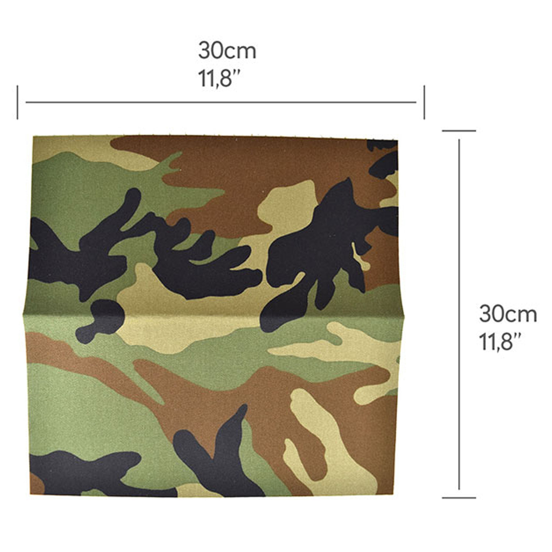 GearSkin Camo Foil Woodland Compact