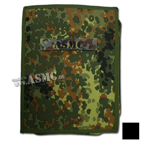 MMB Commando Notebook A4 flecktarn