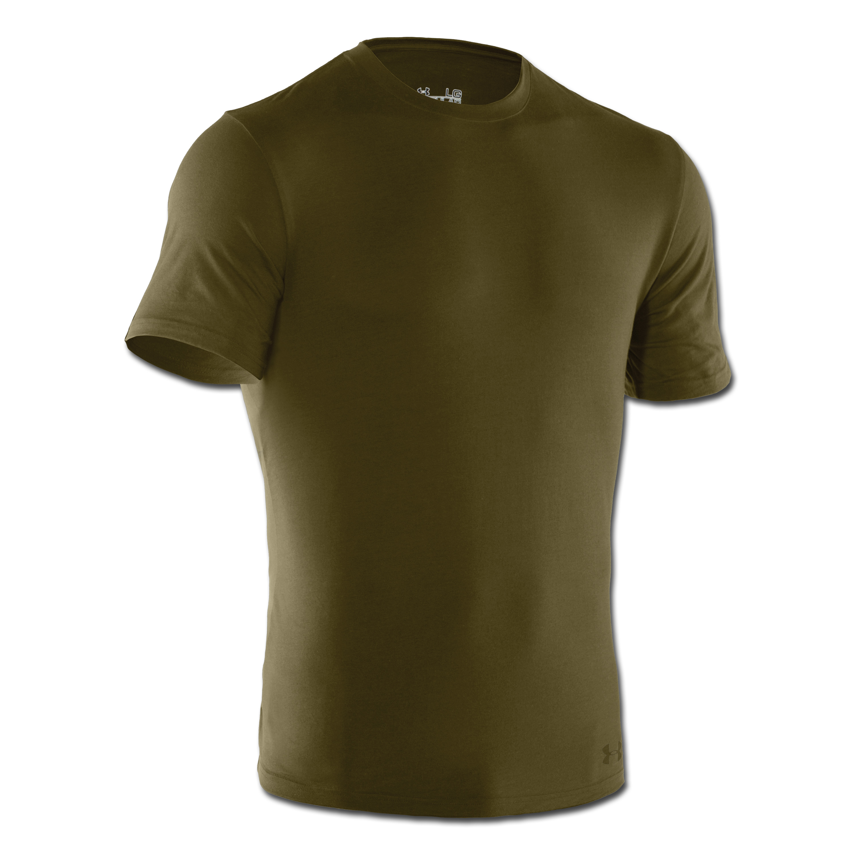 Under Armour Tactical T-Shirt Charged Cotton Tee HeatGear olive